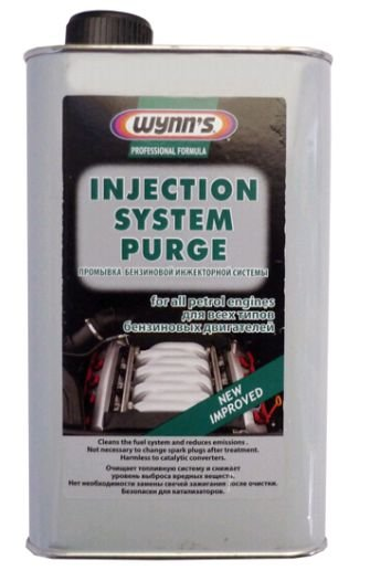 INJECTION SYSTEM PURGE
